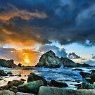 Sunset at Sugarloaf Rock by Peter Doré