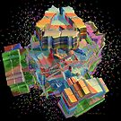 Rainbow Confetti by Deborah  Benoit