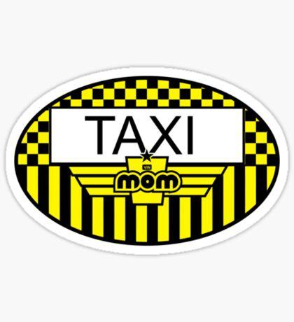 Taxi Mom VRS2 Sticker