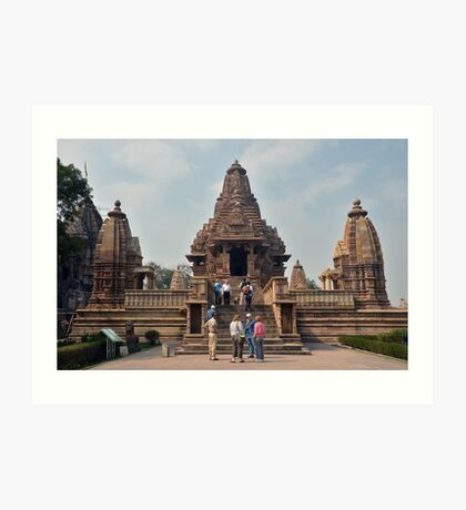 Lakshmana Temple Khajuraho AD 930-950 Art Print