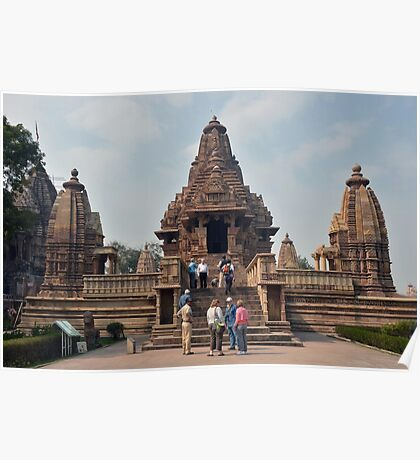Lakshmana Temple Khajuraho AD 930-950 Poster
