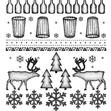 CHRISTMASDEERS by sashabecker