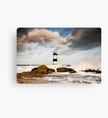 Stormy Seas by Smart Imaging Canvas Print