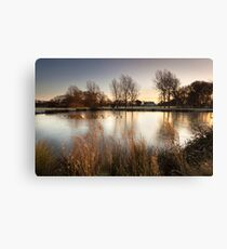 A Winter's Sunrise by Smart Imaging Canvas Print