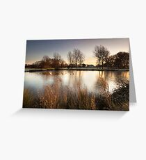 A Winter's Sunrise by Smart Imaging Greeting Card