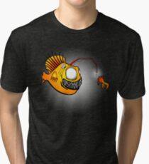 anglerfish Tri-blend T-Shirt