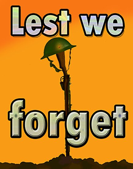 LEST WE FORGET PR> by Jon de Graaff