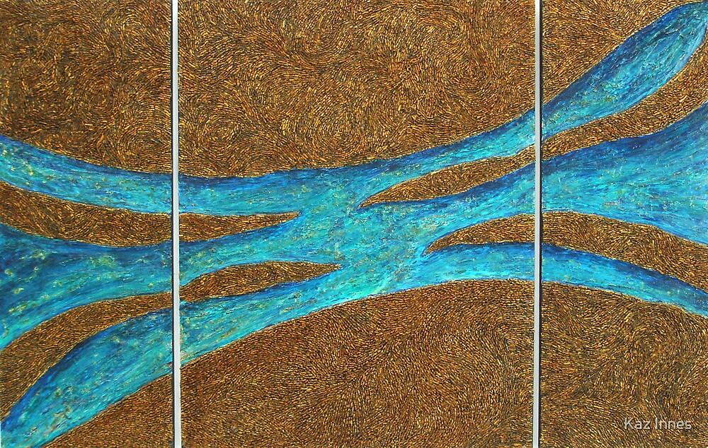 Big Blue by Kaz Innes