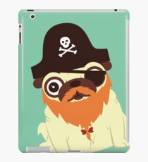 Pug in a crew iPad Case/Skin