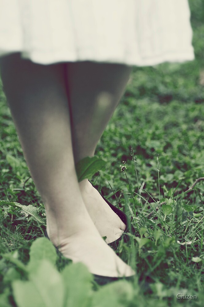 She stood in the grass by Nikki Smith