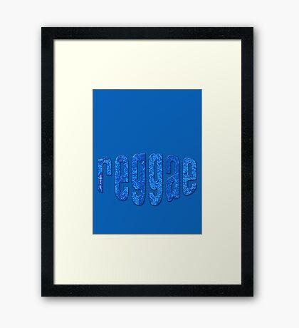 reggae Framed Print
