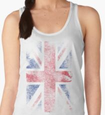 Union Jack - Flag Great Britain - Vintage Look Women's Tank Top