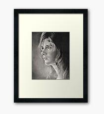Girl Portrait Framed Print