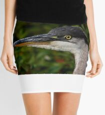 Great Blue Heron Mini Skirt