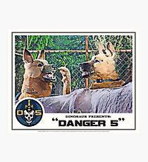 "Danger 5 Lobby Card #11 - ""Hast du feuer mein liebe?"" Photographic Print"