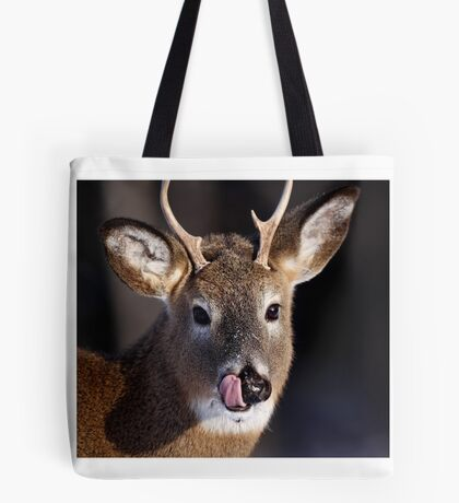 Young Whitetail Buck  Tote Bag