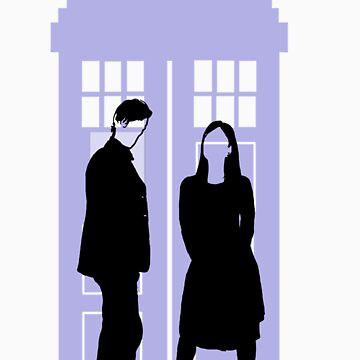 Eleven and Oswin by carrieclarke