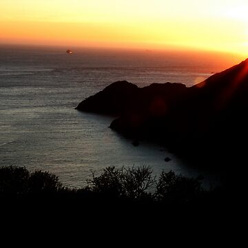 Landscape at California, San Francisco  by Cyntain