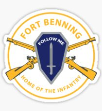 Fort Benning Sticker
