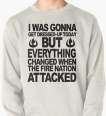 Blame the Fire Nation! Pullover