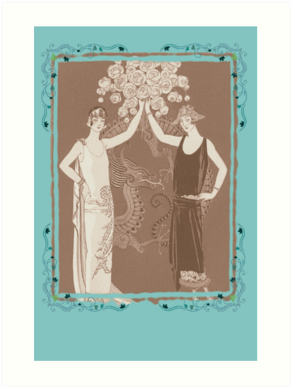 Vintage Women by Tickleart