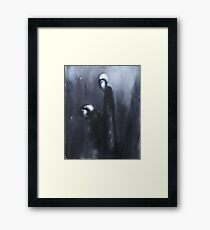 Nocturn 10: The Lord of the House and the Patriarch Framed Print