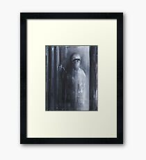 Nocturn 7: the Butler of the House Framed Print