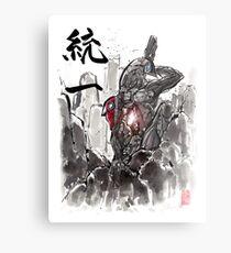 Mass Effect Legion Sumie style Metal Print