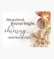 Shining Bright Photographic Print