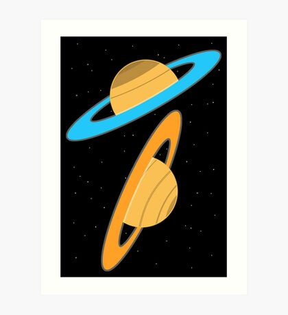 Now you're thinking with planets! Art Print