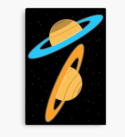 Now you're thinking with planets! Canvas Print