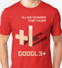Google+ - Share Propaganda Unisex T-Shirt