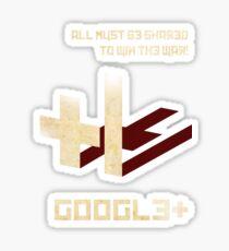 Google+ - Share Propaganda Sticker