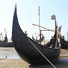 Beached Sampans by BlackhawkRogue