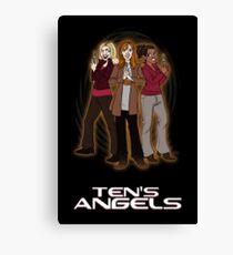 Ten's Angels Canvas Print