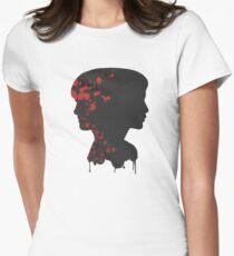 katniss & peeta Womens Fitted T-Shirt