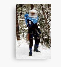 The Ice Man Cometh Canvas Print
