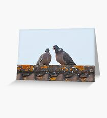 Attracting a mate? Greeting Card