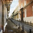 On the streets of San Juan by John Rivera
