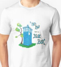 Mad Man with a Blue Box T-Shirt