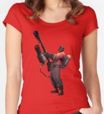 Cocky Pyro - TF2 Class Women's Fitted Scoop T-Shirt