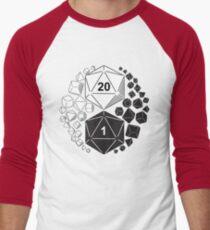 Gaming Yin Yang Men's Baseball ¾ T-Shirt