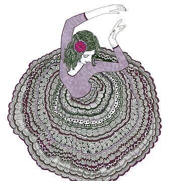 Dancing Lady by rkrishnappa