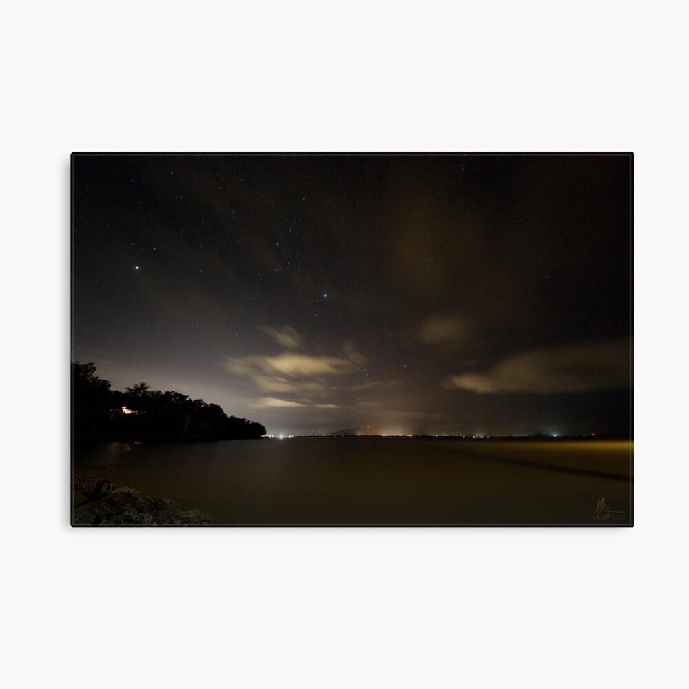 Across Trinity Inlet @ Night Canvas Print