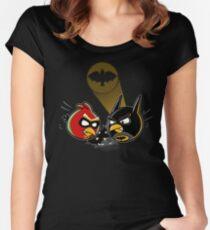 Batbird And Robin Women's Fitted Scoop T-Shirt