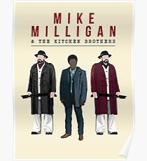 Mike Milligan & The Kitchen Brothers! FARGO Poster