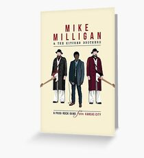 Mike Milligan & The Kitchen Brothers - FARGO Greeting Card