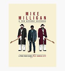 Mike Milligan & The Kitchen Brothers - FARGO Photographic Print
