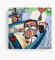'CUBICLE LIFE  Canvas Print