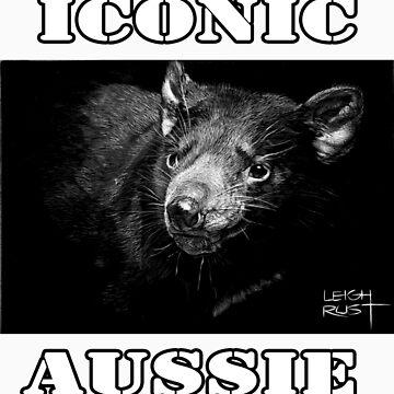 ICONIC AUSSIE - Tasmanian Devil by wildatart